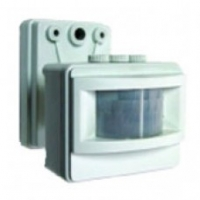 Детектор движения уличный LX01, бел. 500Вт